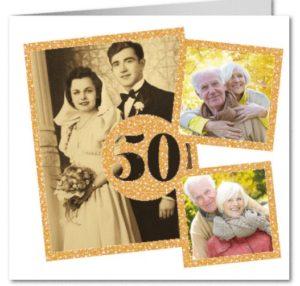 pareja con 50 años de matrimonio