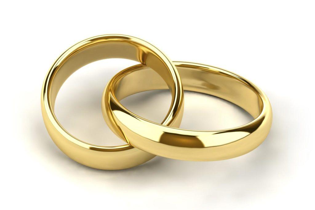 anillos de oro para aniversario 50 de bodas