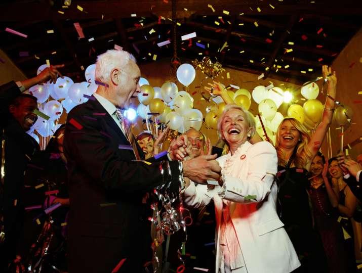 celebración del 50 aniversario de casamiento