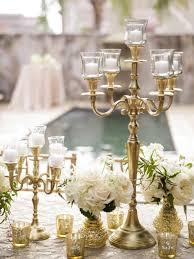 candelabros para bodas de oro