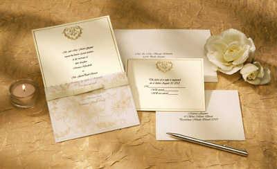 tarjetas de invitación para bodas de oro