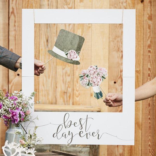 marco photocall para bodas de oro