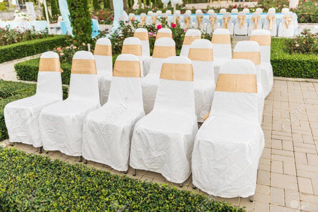 sillas decoradas para bodas de oro