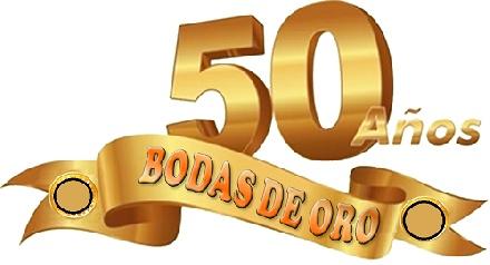 bodas de oro 50 aniversario