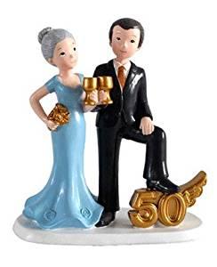 comprar figura para pastel bodas de oro