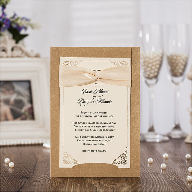 tarjeta de invitación para bodas de 50 aniversario de matrimonio