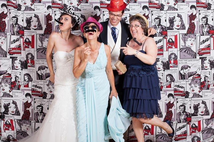 photocall divertido para bodas de oro