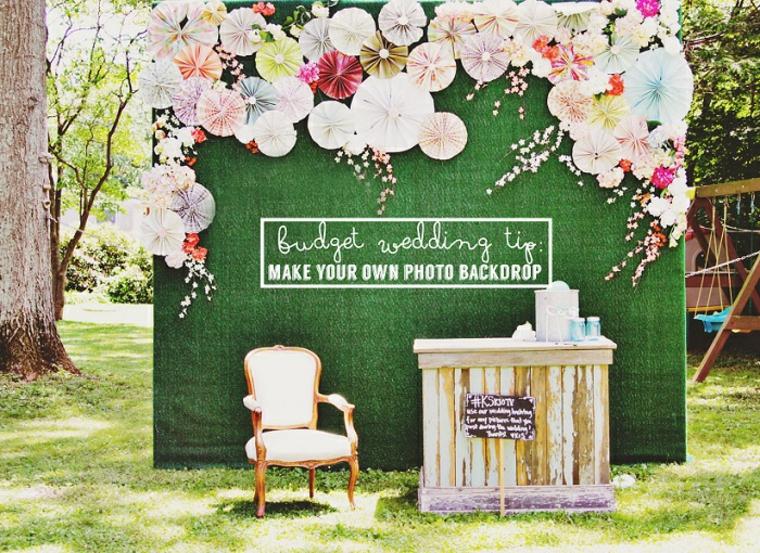photocall auténtico para bodas de oro