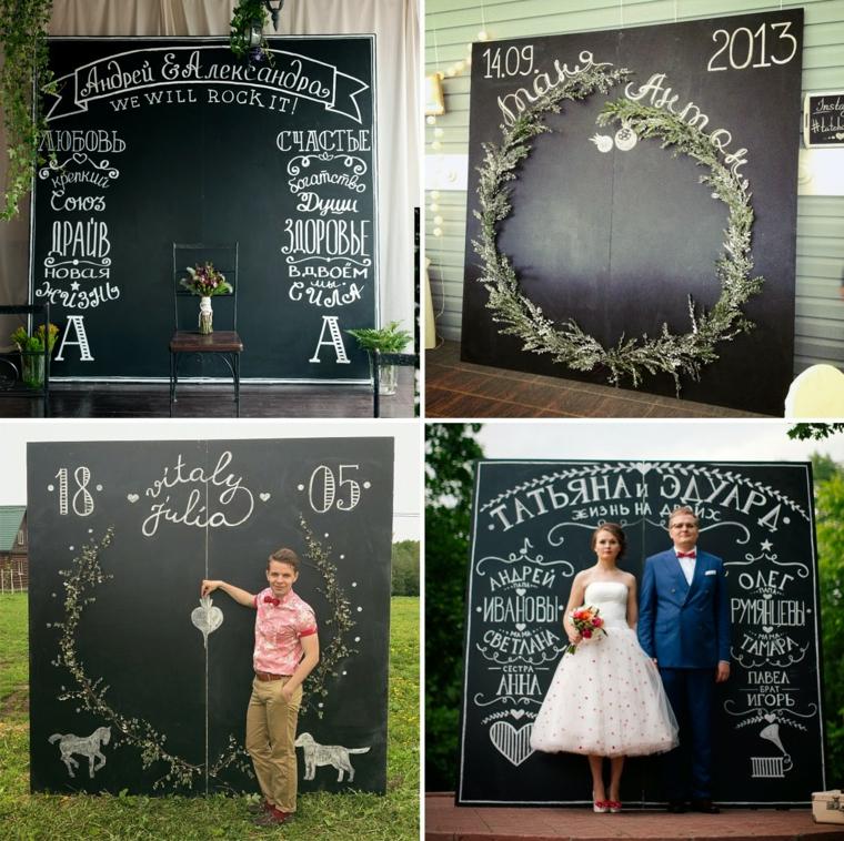 modelos de photocall para bodas de oro