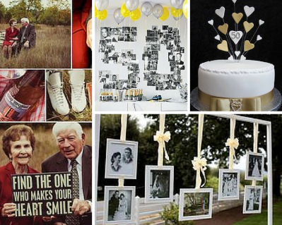 placas conmemorativas para bodas de oro