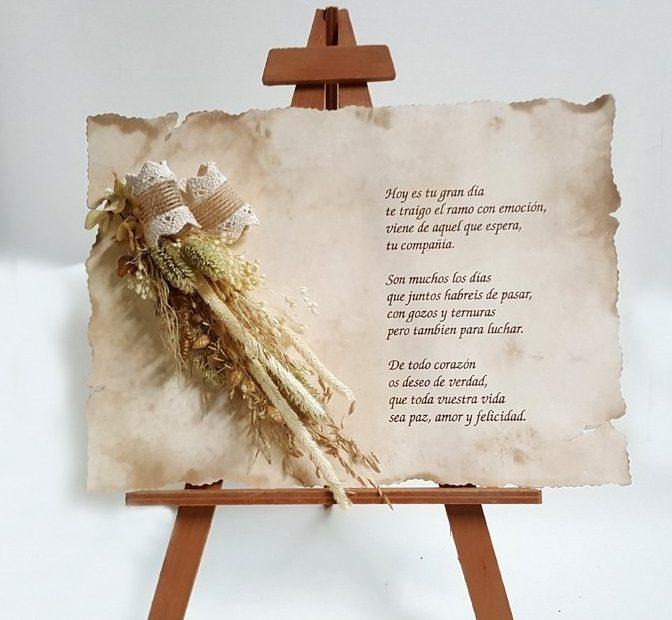 poemas en pergamino para bodas de oro