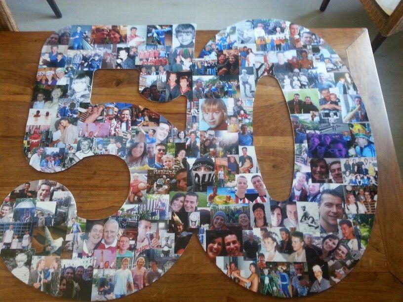 regalos para bodas de oro collage imágenes de la pareja