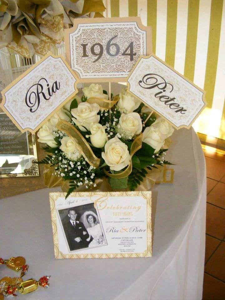 bellas sorpresas para bodas de oro