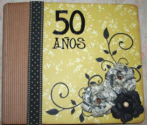 cuaderno sorpresa para bodas de oro
