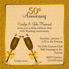tarjetas elegantes bodas de oro