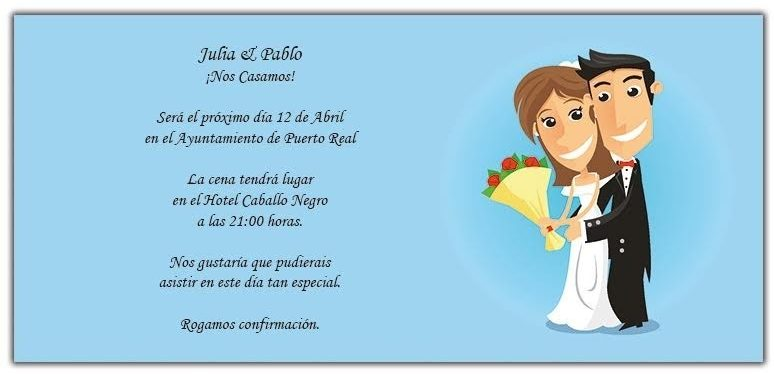 tarjeta de invitación animada para bodas de oro